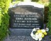 Erika og Marius Justesens grav