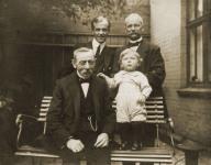 Morten Pedersen, Christian H. Zierau, Christian M. J. Zierau og Christian Zierau, 1916